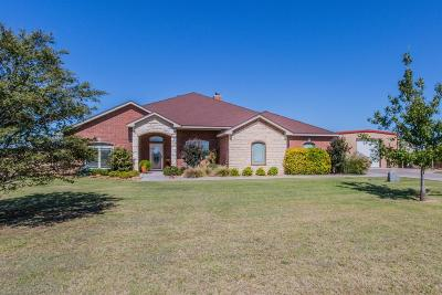 Lubbock Single Family Home For Sale: 3304 County Road 7545
