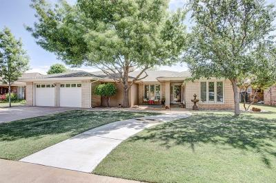 Lubbock Single Family Home For Sale: 9703 Jordan Avenue
