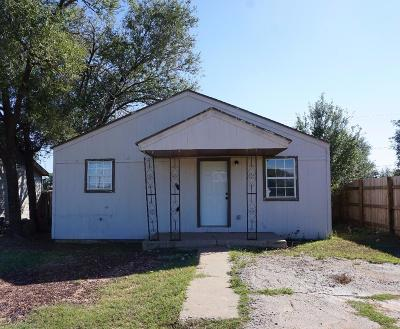 Lubbock County Single Family Home For Sale: 509 46th Street