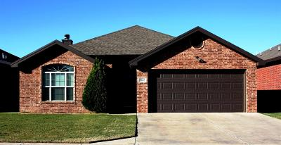 Lubbock TX Single Family Home For Sale: $160,000