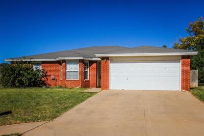 Lubbock Single Family Home Under Contract: 1104 Kline Avenue