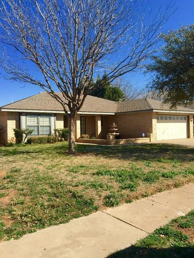 Lubbock Rental For Rent: 6032 72nd Street