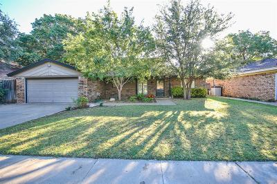 Lubbock Single Family Home For Sale: 8103 Salem Avenue