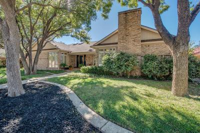 Lubbock Single Family Home For Sale: 4609 92nd Street