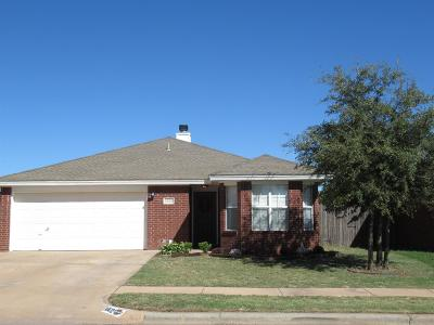Lubbock Single Family Home For Sale: 1802 79th Street