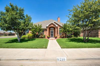 Lubbock Single Family Home For Sale: 6210 78th Street