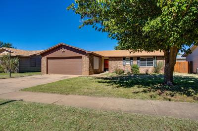 Lubbock Single Family Home For Sale: 5528 Grinnell Street