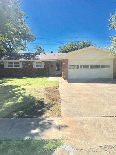 Lubbock Single Family Home For Sale: 211 57th