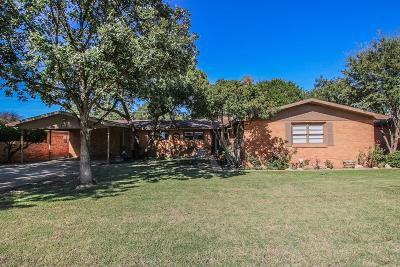 Lubbock Single Family Home For Sale: 3412 44th Street