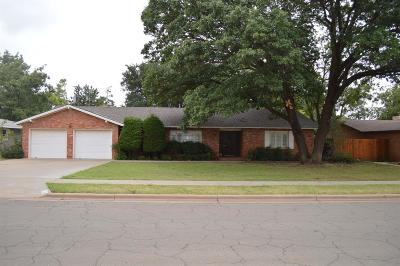 Lubbock Single Family Home Under Contract: 2706 55th Street