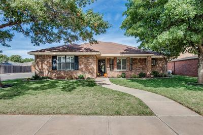 Lubbock Single Family Home For Sale: 5706 86th Street