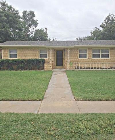 Lubbock Single Family Home For Sale: 4817 43rd Street