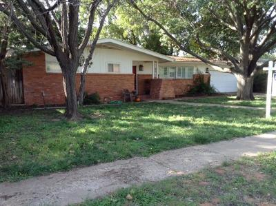 Lubbock Single Family Home For Sale: 3609 46th Street