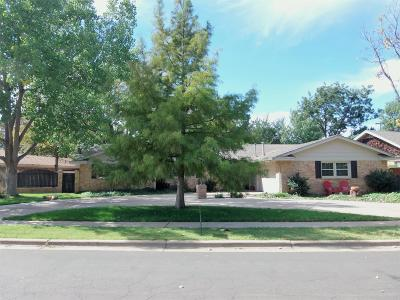Lubbock Single Family Home For Sale: 6210 Lynnhaven Drive