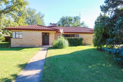 Littlefield TX Single Family Home For Sale: $159,900