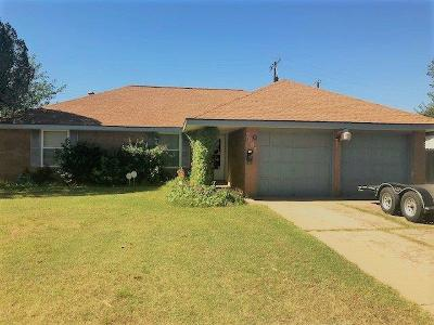 Lubbock TX Single Family Home For Sale: $103,500