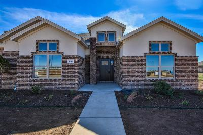 Lubbock Single Family Home For Sale: 5237 Marshall Street