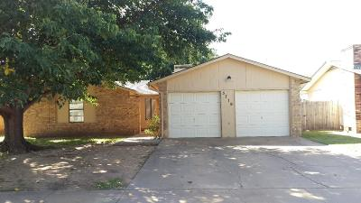 Lubbock TX Single Family Home For Sale: $113,950