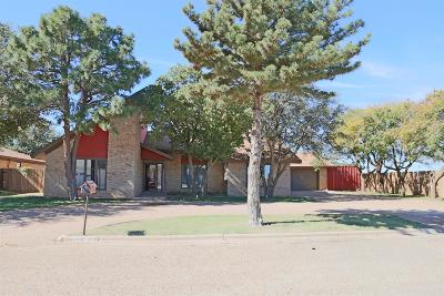 Slaton Single Family Home Under Contract: 295 North Terry Drive