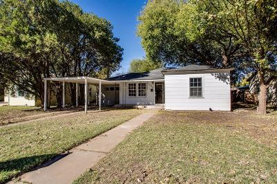 Lubbock Single Family Home For Sale: 3012 30th Street