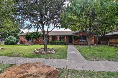 Single Family Home For Sale: 3801 70th Street