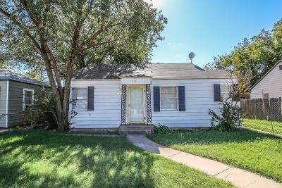 Lubbock Single Family Home Under Contract: 1315 27th Street