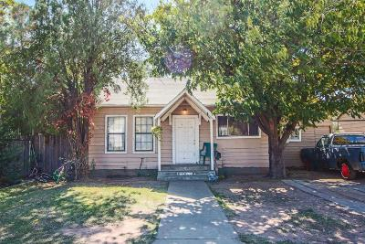 Lubbock Single Family Home Under Contract: 1517 26th Street