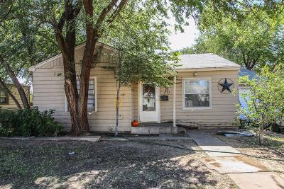 Lubbock Single Family Home Under Contract: 1517 24th Street