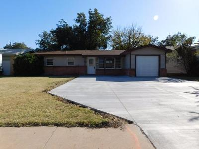 Lubbock Single Family Home For Sale: 3815 26th Street