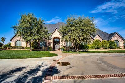 Lubbock TX Single Family Home For Sale: $1,050,000