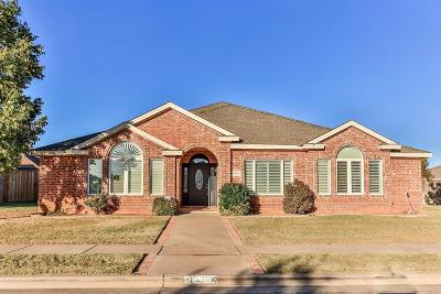 Lubbock Single Family Home Under Contract: 4516 110th Street