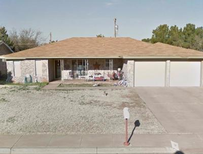Levelland Single Family Home Under Contract: 2018 Longhorn Drive