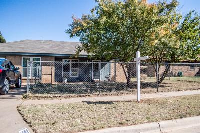 Wolfforth Single Family Home Under Contract: 1610 Aberdeen