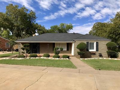 Lamesa TX Single Family Home For Sale: $135,000