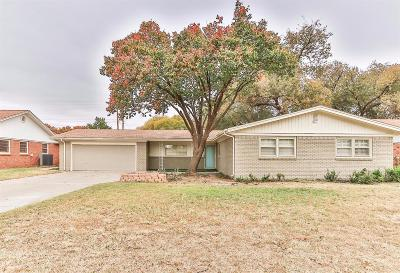 Single Family Home For Sale: 4608 30th Street