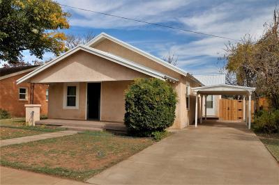Slaton Single Family Home Contingent: 220 South 16th Street
