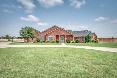 Lubbock Single Family Home For Sale: 16812 County Road 2110