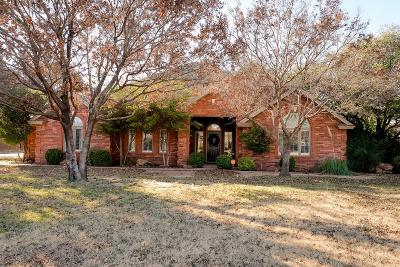 Lubbock Single Family Home For Sale: 7606 Saratoga Avenue