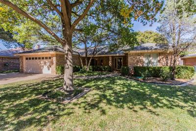 Lubbock Single Family Home Contingent: 3706 97th Street