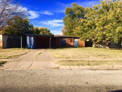 Lubbock Single Family Home For Sale: 4306 30th Street