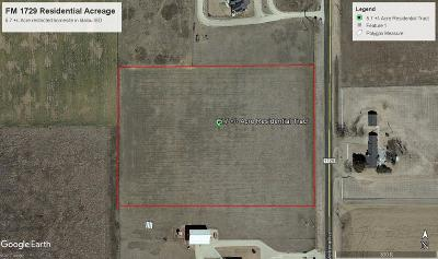 Lubbock County Residential Lots & Land For Sale: 11309 North Farm Road 1729
