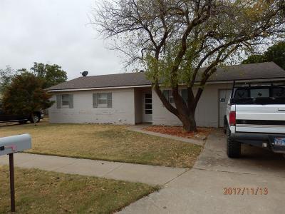 Lubbock Single Family Home For Sale: 3408 Juneau Avenue