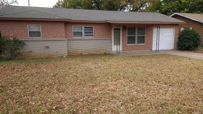 Lubbock Single Family Home For Sale: 2113 73rd Street