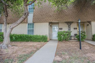 Lubbock Townhouse For Sale: 4741 48th Street