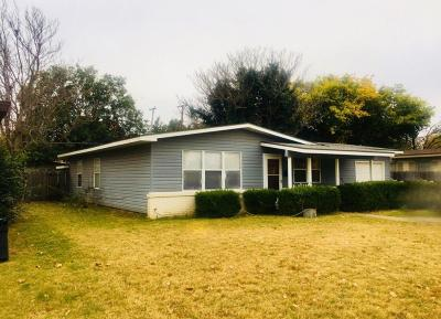 Single Family Home For Sale: 4007 37th Street