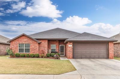 Lubbock Single Family Home Under Contract: 5408 105th Street