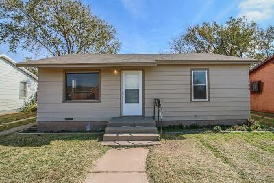 Slaton Single Family Home Under Contract: 930 South 15th Street
