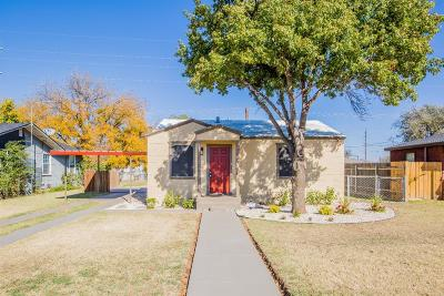 Single Family Home For Sale: 3306 Emory Street