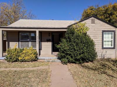 Lubbock Single Family Home For Sale: 3720 25th Street