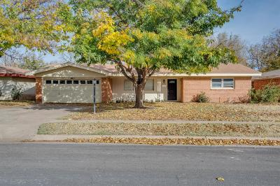 Lubbock TX Single Family Home For Sale: $127,500